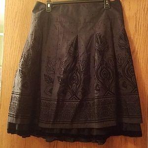 Apt. 9 black full skirt